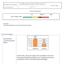 improvement report template quality improvement report template 28 images quality