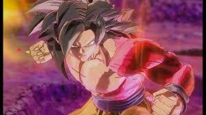 ssj4 dragon fist super saiyan 4 goku gameplay dragon ball