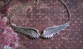jewelry wings necklace images Angel wing necklace silver wing jewelry gorgeous detailed jpg