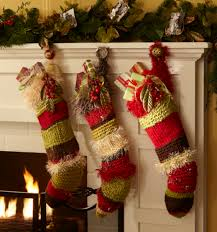 knitted christmas stockings diy projects joann