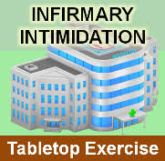 Table Top Exercise by Infirmary Intimidation A Workplace Violence Response Tabletop