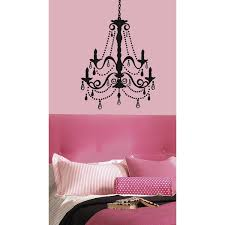 roommates rmk1805gm chandelier with gems peel and stick giant wall
