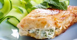 cuisiner des filets de poulet recette de filets de poulet farcis au basilic et fromage frais 0