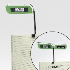 aisle markers gondola sign holders retail aisle signage ideas