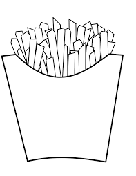 french fries coloring book colouring sheet coloring book colouring