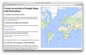 Coordinates Map Design Create My Own Google Maps Api Map In Photoshop And