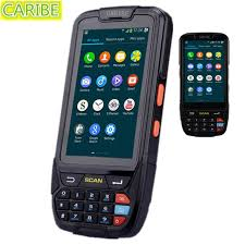 rugged handheld pc caribe pl 40l 2gb 16gb rugged handheld pda android 5 1 os