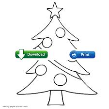 christmas tree color pages christmas lights decoration