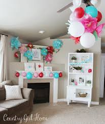 How To Decorate Birthday Party At Home by Country Home 2nd Birthday Flower Party