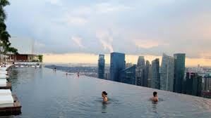 150 meter outdoor infinity pool marina bay sands yatzer