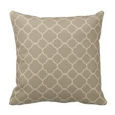 dry sage and monroe bisque quatrefoil throw pillow quatrefoil