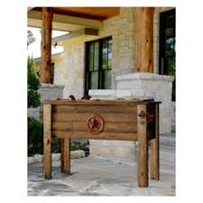 Home Hardware Patio Furniture Home Hardware Large Texas Rustic Wooden Patio Cooler