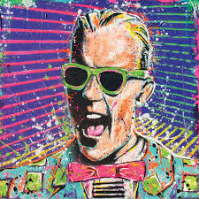 max headroom 12 x 12 high quality pop art print