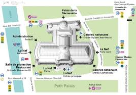 louvre museum floor plan the grand palais map map of the grand palais france