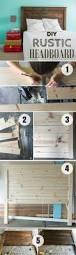 Easy Headboard Ideas Make Your Own Diy Rustic Headboard Andreasnotebook Com