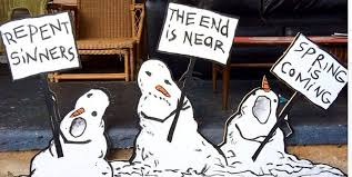 these u0027calvin and hobbes u0027 snowmen are perfect if you u0027re sick of