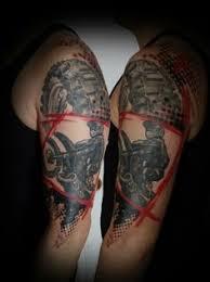dirt bike sprocket tattoos red dirt tattoo pinterest dirt