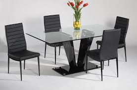 Frosted Glass Dining Table And Chairs Furniture Wonderful Frosted Glass Top Dining Table Design Ideas