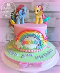 pastel my pony birthday cake www deliciousbylinzi co uk