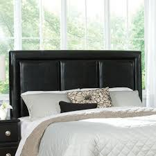 buy carson upholstered headboard size queen finish black