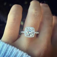 halo cushion cut engagement ring best 25 cushion cut halo ideas on cushion cut