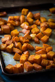 butternut squash recipe for thanksgiving roasted butternut squash with smoked paprika and turmeric