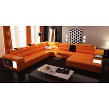 burnt orange leather sofa 16 extraoradinary burnt orange