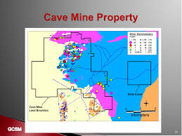 Grand Central Map Grand Central Silver Mines Exploration Projects