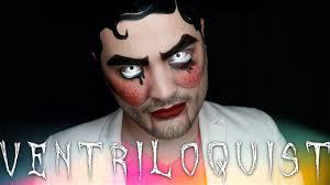 ventriloquist dummy halloween makeup tutorial 31 days of