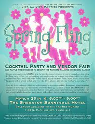 spring fling cocktail party and vendor fair loans by irene