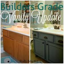 Vanity For Small Bathroom by Painting Oak With Annie Sloan Chalk Paint Bathroom Vanity