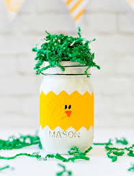 Easter Decorations Using Mason Jars by Peeps Mason Jars For Easter Mason Jar Crafts Love