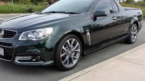2013 holden ute vf my14 ss v ute green 6 speed manual utility