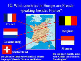 French Language Countries - exploring french and french speaking countries 1 what branch of