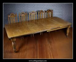 12 Seater Oak Dining Table 12 Seater Extending Oak Dining Table Collinge Antiques
