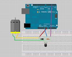 arduino uno transistor for dc motor and 9v arduino stack exchange