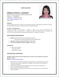 Sample Resume For Admin Jobs by 9 Job Resume Applicationsformat Info