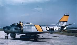 f 86 sabre jet usaf fighter jet of the korean war