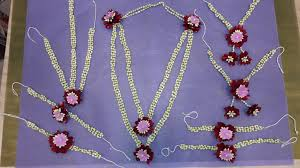 flower jewellery best flower jewellery ashok flowers and events in indore india