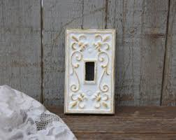 Shabby Chic Light Switch Covers by Shabby Chic Switch Etsy