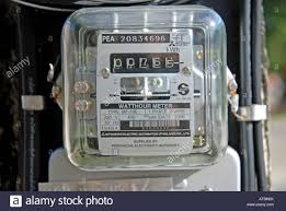 mitsubishi electric automation electric meter thailand khao lak stock photo royalty free image