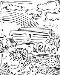 noah u0027s ark coloring page 7408