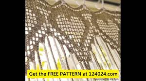 crochet lace curtains youtube