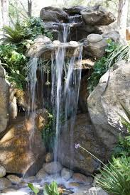 Backyard Water Falls by Top 25 Best Rock Waterfall Ideas On Pinterest Garden Waterfall