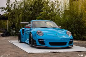 miami blue porsche turbo s sa u0027s first liberty walk porsche 997 2 turbo s life about cars