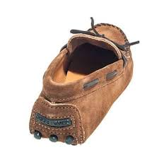 Moccasins Minnetonka Shoes Men U0027s Brown 713 Suede Moccasin Driving Shoes
