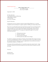 Full Charge Bookkeeper Cover Letter Sample Cover Letter Job Inquiry Examples