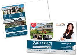 real estate postcards creative real estate postcard template