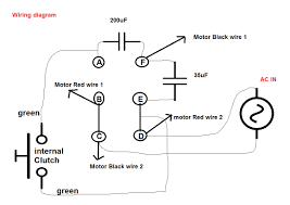 wiring diagrams ac blower capacitor air compressor start