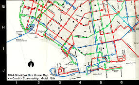 Southwest Route Map by Today Is The 35th Anniversary Of The Southwest Brooklyn Bus Changes